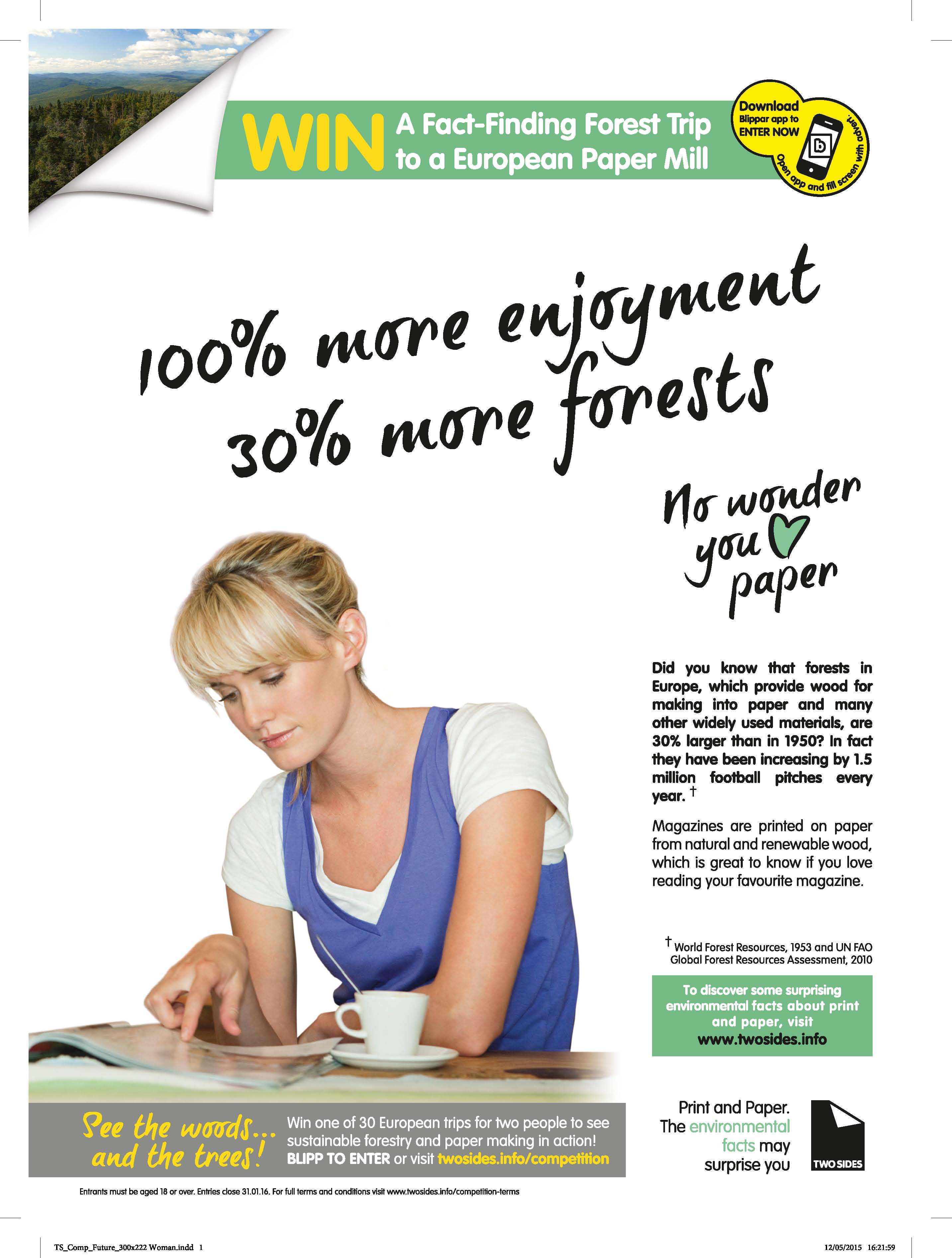 Love Paper Advert Full Page