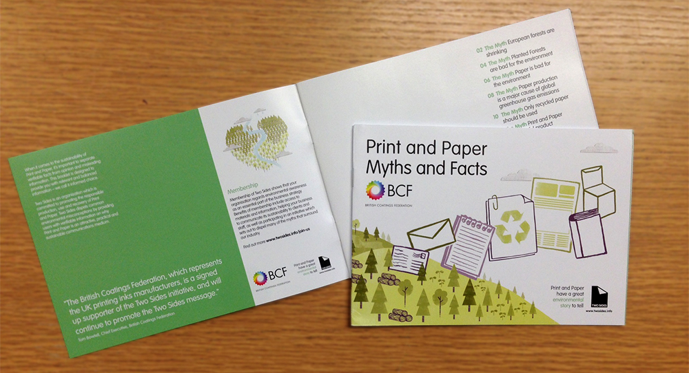 BCF personalised Myths and Facts booklet