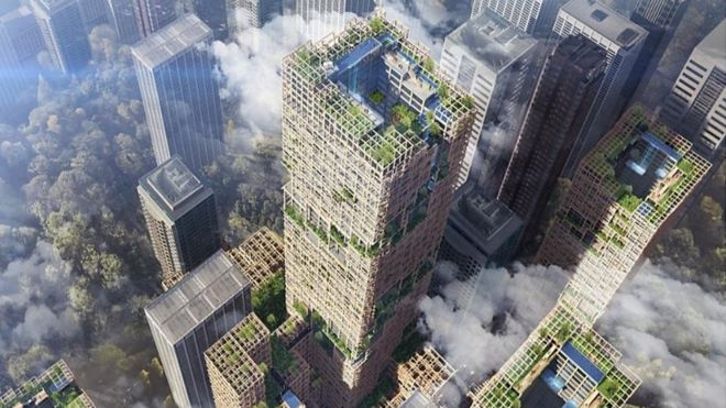 Plans drawn up for World's tallest Wooden Skyscraper | Sustainable Paper Packaging & Print | TwoSide