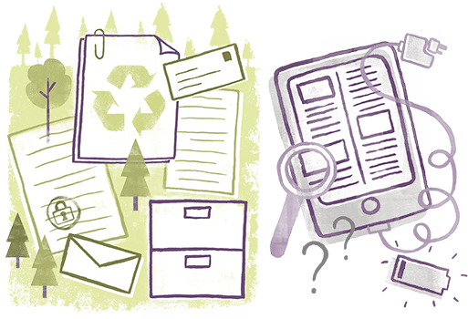 E-communication is better for the environment | Sustainable Paper Packaging & Print | TwoSide