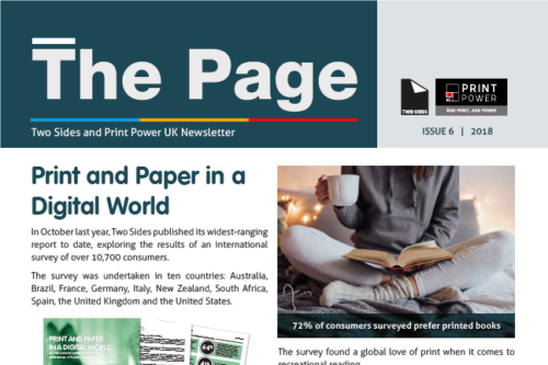 Read the latest issue of The Page