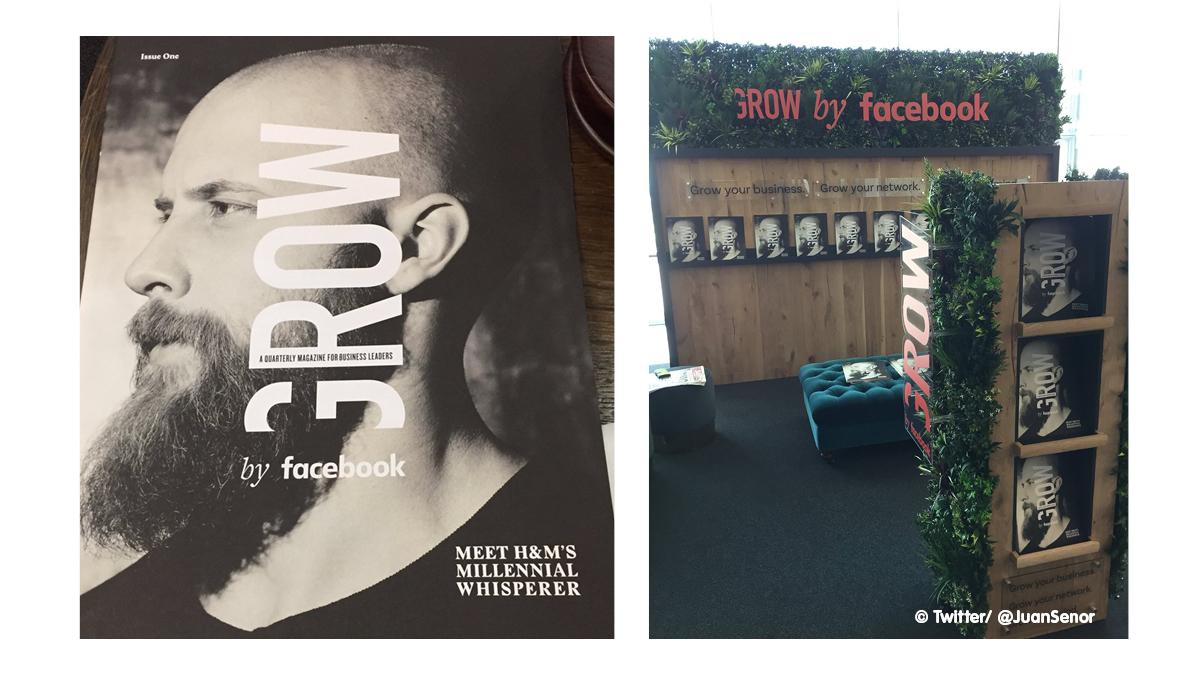 Facebook Grow Magazine - © Juan Senor/ Twitter