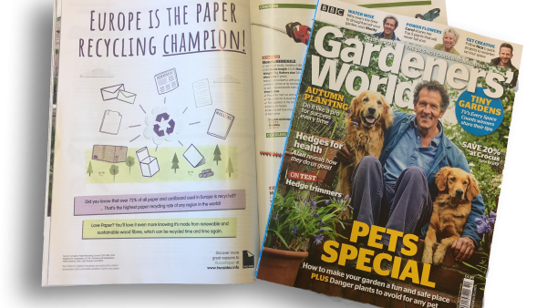 Love Paper Campaign features in Gardeners' World