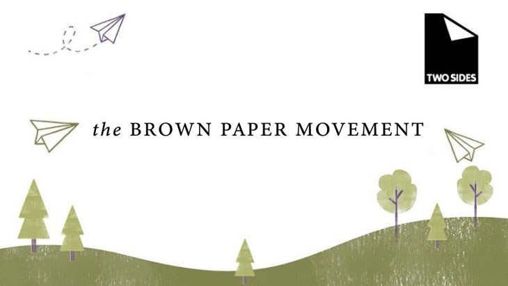 The Brown Paper Movement joins Two Sides   Sustainable Paper Packaging & Print   TwoSide