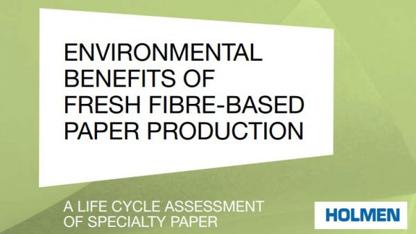 Holmen – A Life Cycle Assessment of Specialty Paper