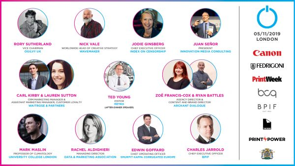 Power of Print 2019 – Full Speaker Line Up and Agenda Revealed