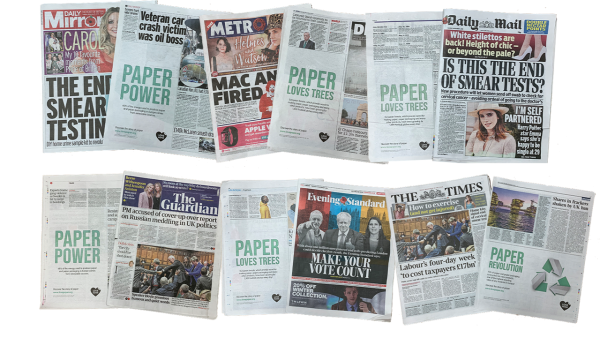 Love Paper campaign features across national publications