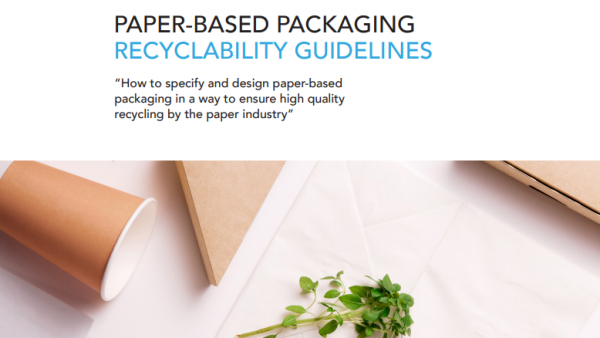 CEPI publish Paper-based packaging recyclability guidelines