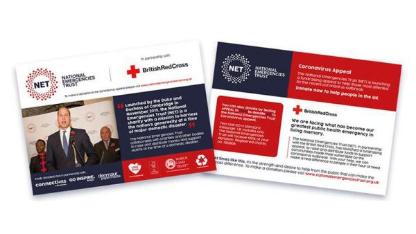 The print & paper industry supports campaign to raise money for coronavirus victims