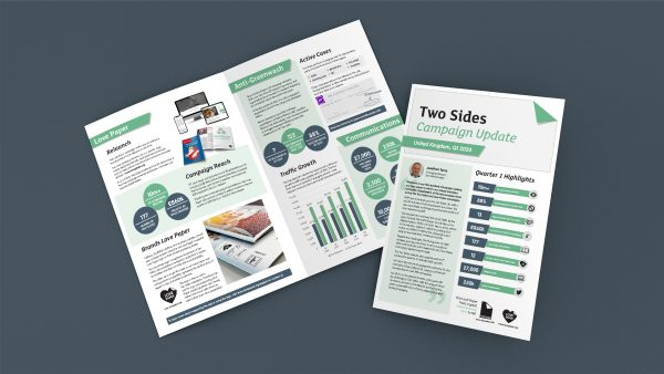 The Two Sides Campaign Update launches to share key successes and results