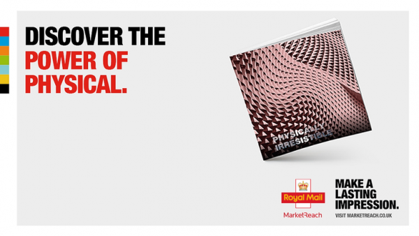 Royal Mail Market Reach launches 'Physically Irresistible' showcasing the power of direct mail