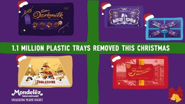 Mondelez International Removes Plastic Trays from Selection Boxes in UK & Ireland This Christmas