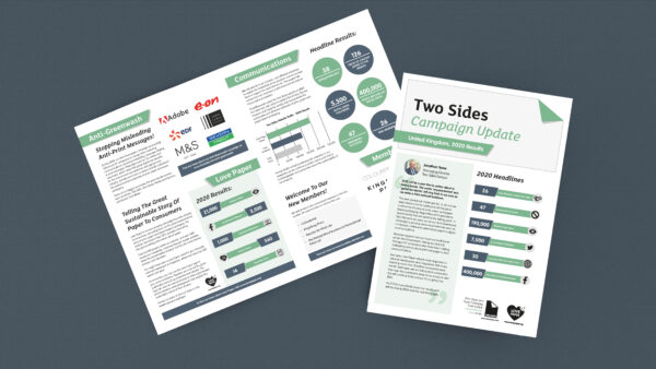 Two Sides Reports On UK Campaign Successes In 2020