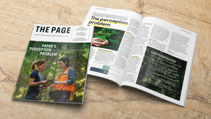 Issue 16 of The Page is now available   Sustainable Paper Packaging & Print   TwoSide