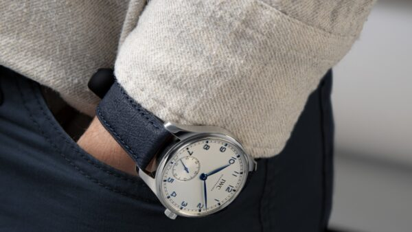 Luxury Watch Brand, IWC, Launches Paper-Based Watch Straps