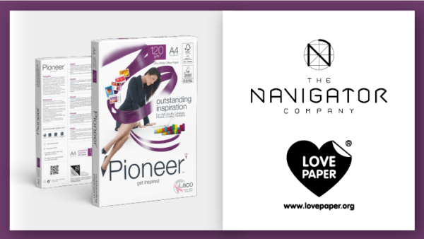 The Navigator Company Promotes the Sustainable Attributes of Print and Paper with Love Paper