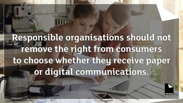 Consumers Want The Right To Choose How They Receive Their Communications. Latest Study Reveals.