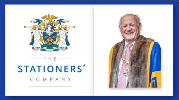 New Master of the Stationers' Company, Robert Flather, Looks to Serve the Whole Country