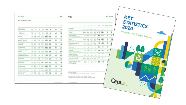 Cepi's Key Statistics Report 2020 | Sustainable Paper Packaging & Print | TwoSide