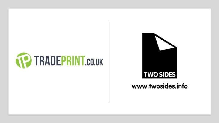 Tradeprint Promotes Their Sustainable Business Practices Further By Joining Two Sides | Sustainable Paper Packaging & Print | TwoSide