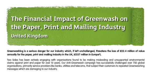 Financial Impact Of Greenwashing Web Image