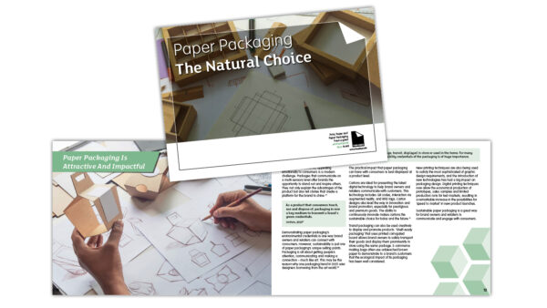 NEW Packaging Booklet: Paper Packaging – The Natural Choice | Sustainable Paper Packaging & Print | TwoSide